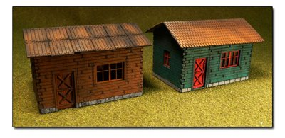 HO Laser-Cut Cottage Kit