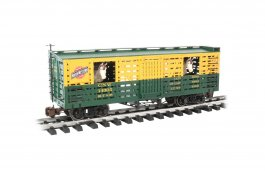 C & NW™ w/Horses - Animated Stock Car (Large Scale)