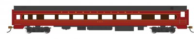 PRR #4251 - Fleet of Modernism Smooth-Side Coach w/Lighted Intr