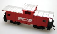 Wide Vision Caboose - Norfolk Southern (HO Scale)