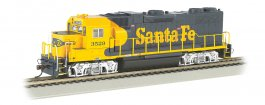 Santa Fe #3529 GP38-2 - DCC Sound Value (HO Scale)