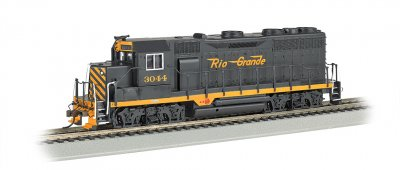 Rio Grande #3044 - GP35 - E-Z App™ Train Control