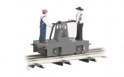 Operating Handcar - Gray
