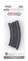 "E-Z Street 16"" Diameter Curved Track (4/Card)"