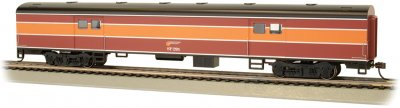 Southern Pacific™ Daylight #295 - 72' Smooth-Side Baggage Car