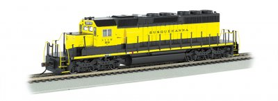 NEW YORK, SUSQUEHANNA & WESTERN #3018 - SD40-2 - DCC (HO Scale)