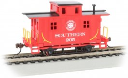 Cass Scenic R.R. - Old-Time Bobber Caboose (HO Scale)