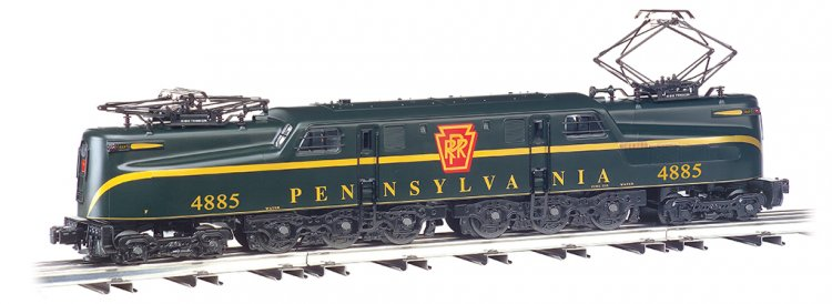 GG-1 Pennsylvania #4885 - Green Single Stripe - Click Image to Close