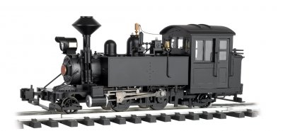 Unlettered - Black -2-4-2 Locomotive
