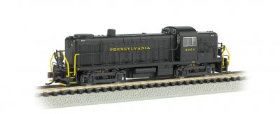 Pennsylvania #5604 - ALCO RS-3 - DCC
