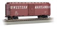 Western Maryland® #25124 - 40' Box Car