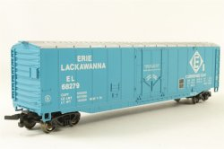 Erie Lackawanna - 50' Plug Door Box Car