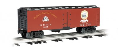 Berkshire Brewing Company - 40' Refrigerated Steel Box Car