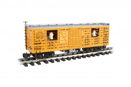 D&RGW™ w/Cattle - Animated Stock Car (Large Scale)