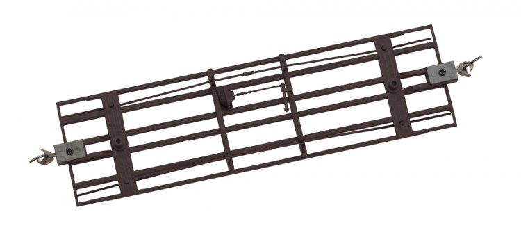 Freight Car Underframe - Black (3/Pk) - Click Image to Close
