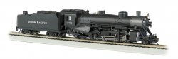 UP® #2492 Light 2-8-2 w/Med. Tender-DCC Sound Value (HO)
