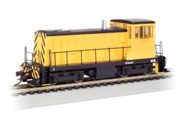 Painted Unlettered - Yellow & Black - GE 70-Ton - DCC (HO Scale)