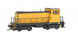 Painted, Unlettered - Yellow & Black GE 70 Ton -DCC