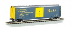 Boxcar - 50' Plug Door - Baltimore & Ohio® (HO Scale)