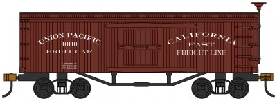Union Pacific® Fruit Car - Old-time Box Car