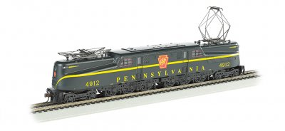 PRR Brunswick Green Single Stripe #4912-DCC Ready(HO GG1)