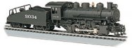 ATSF #2034 -USRA 0-6-0 W/Smoke & Slope Tender (HO Scale)