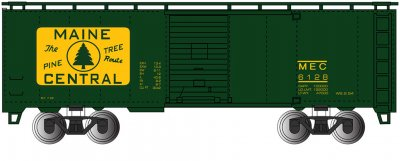 Maine Central #5527 40' Box Car (HO Scale)