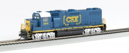 CSX® #2640 (Dark Future Boxcar Logo) GP38-2-DCC Sound Value(HO)