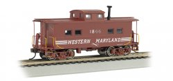 Western Maryland® #1866 - NE Steel Caboose (HO Scale)