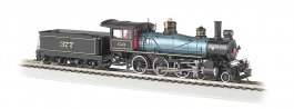 Chesapeake & Ohio® #377 - Baldwin 4-6-0 - DCC Sound Value (HO)