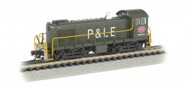 New York Central System - P&LE #8662 - ALCO S4 Switcher - DCC