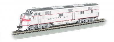 CB & Q - E7-A DCC Sound Value (HO Scale)