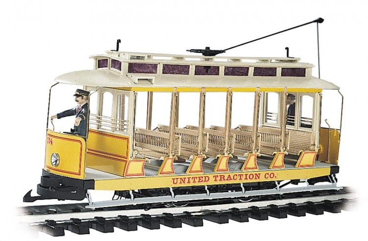 United Traction Co. - Open Streetcar - Click Image to Close