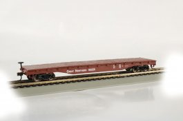 Great Northern - 52' Flat Car (HO Scale)
