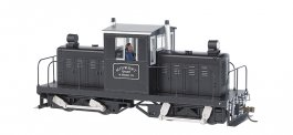 Midwest Quarry (silver & black) - Whitcomb 50-Ton DCC