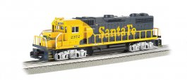 Santa Fe #2372 - GP-38 Powered