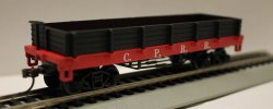 Low Gondola - Central Pacific R.R. (HO Scale)