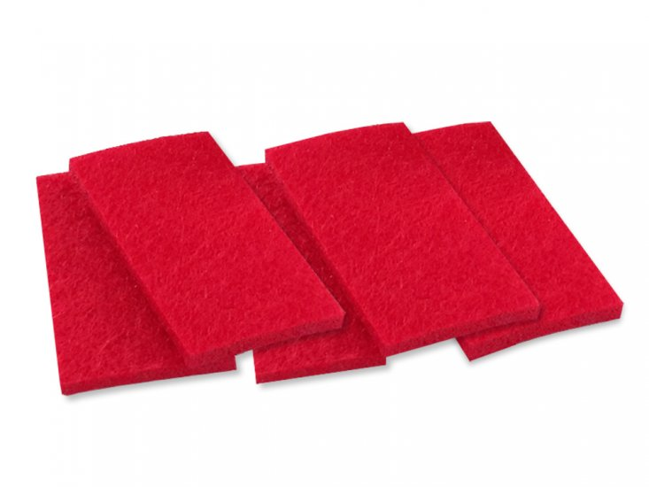 Hand-Held Track Cleaner Replacement Pads On30/HO/ N Scales - Click Image to Close
