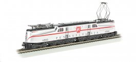 PRR Silver w/ Red Stripe Congressional #4866-DCC Ready (HO GG1)