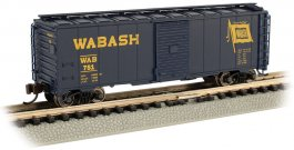 Wabash - AAR 40' Steel Box Car