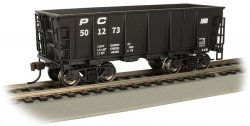 Penn Central #501273 - Ore Car (HO Scale)