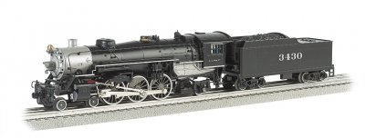Santa Fe #3430 Semi-Scale 4-6-2 Pacific