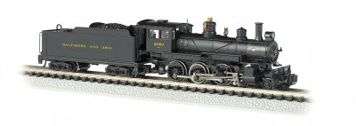 Baltimore & Ohio® #2020 - DCC (N Baldwin 4-6-0)