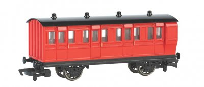 Red Brake Coach (HO Scale)