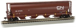 CN #377375 (Oxide Red)- 4 Bay Cylindrical Grain Hopper