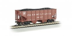 PRR #158637 - 55-Ton 2-Bay USRA Outside Braced Hopper