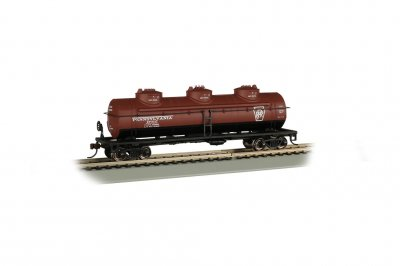 Pennsylvania #498647 - 40' Three Dome Tank Car (HO)