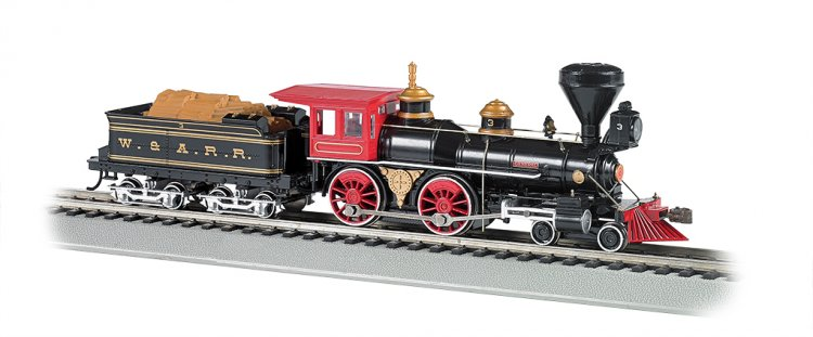 W&ARR - The General - DCC Sound Value (HO American 4-4-0) - Click Image to Close