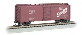 Burlington - Steam Era 40' Box Car (HO Scale)