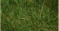 "Pull-Apart 6mm Static Grass - Dark Green (one 11"" X 5.5"" sheet)"
